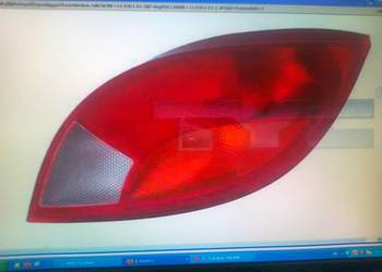 LAMPA TYLNA LE/PR DO: FORD KA 09/96-11/08