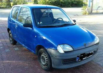 Fiat Seicento 1.1 Van LPG sprawny