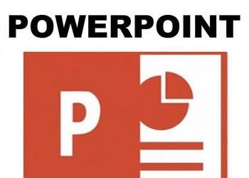 Profesjonalne szkolenie kurs MS POWER POINT 2013 / 2016