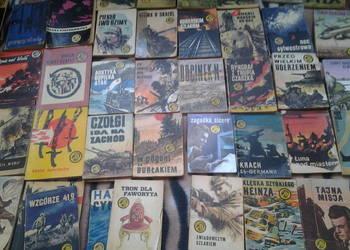 Książki z serii żółty tygrys rok od 1958 do 1988