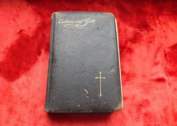 Oryginalny stary modlitewnik z 1920 roku