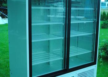 Szafa chłodnicza witryna lodówka przeszklona MAWI 1,6m Transport