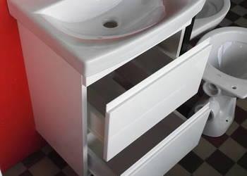Umywalka FUN 50 KFA + szafka wisząca lakierowana SZUFLADY