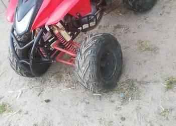 Quad z silnikiem wski okazja pilne
