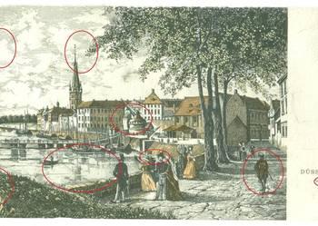Düsseldorf um 1840 kopia replika