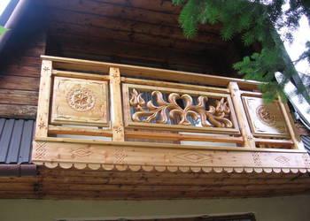 Balkony Balustrady Drewniane Sprzedajemypl