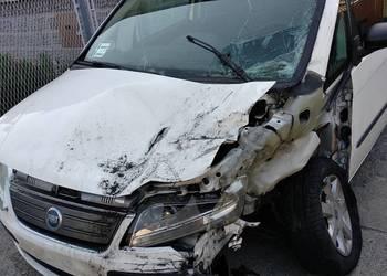 Fiat Idea po wypadku