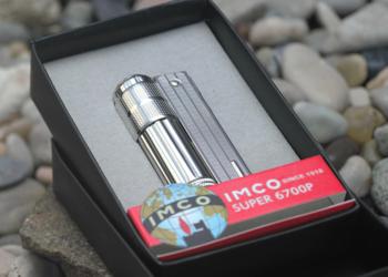IMCO Super 6700 zapalniczka benzynowa chrom-nikiel