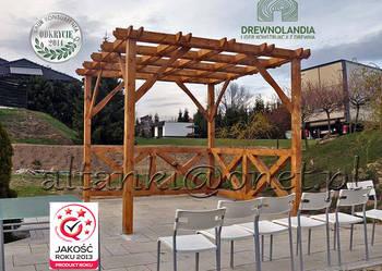 pergola ogrodowa trejaż zadaszenie pawilon 112 Drewnolandia