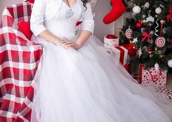 Suknia ślubna Księżniczka Z Ramiączkami Sprzedajemypl