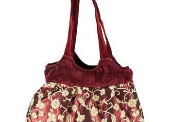 8f068716eadcc Turecka torebka damska z tkaniny z podszewką
