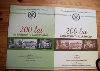200LAT OD MARYMONTU DO URSYNOWA  CZ.I,III