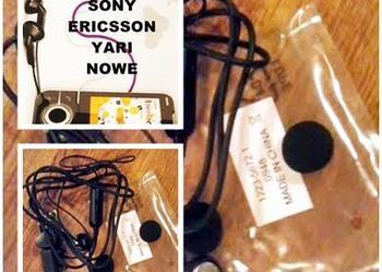Oryginalny zestaw słuchawkowy Sony Ericsson YARI NOWY