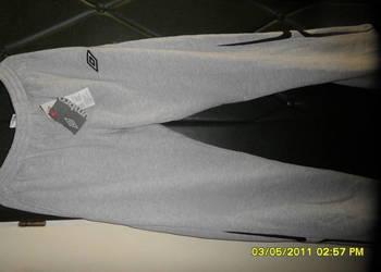 Nowe bawełniane spodnie dresowe UMBRO.