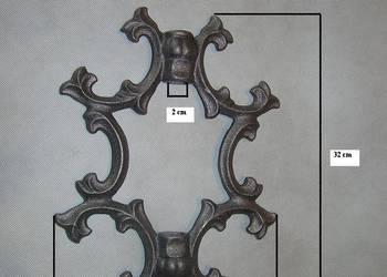 ŻELIWNY GROT ORNAMENT brama płot PRODUCENT