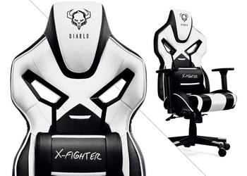 FOTEL dla gracza GAMINGOWY X-FIGHTER powystawowy