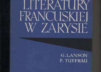 Historia literatury francuskiej w zarysie
