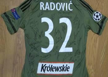 Koszulka Radović Legia Warszawa podpisy Liga Mistrzów 16/17