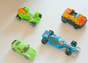 Modele sportowych samochodow-zestaw