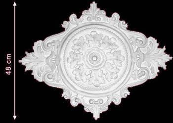 rozeta gipsowa rozety dekor dekory z gipsu Producent okazja