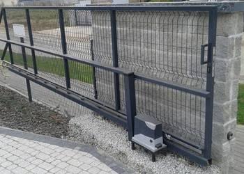 Brama wjazdowa przesuwana panelowa przesuwna