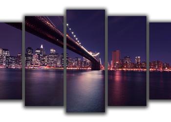 Obrazy na płótnie 5x150x80 - poliptyk