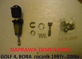 Naprawa zamka wkładki VW GOLF 4 IV, BORA roczniki 1997-2006