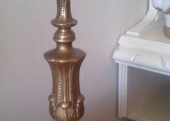 Stary świecznik ponad 150 lat Francja na prąd
