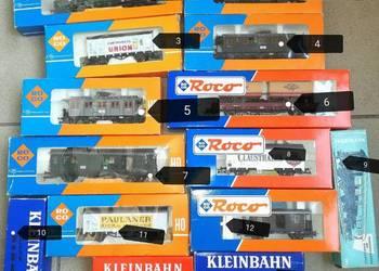 Kolejka wagony Roco Kleinbahn H0