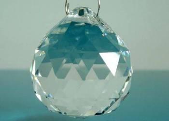 Wisiory kryształowe kryształki do dekoracji