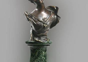 Rzeźba- Popiersie Kobiety z Brązu