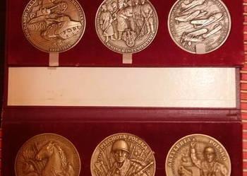 Sprzedam Medale Wybitni Wodzowie i Dowódcy oraz Rodzaje Wojs