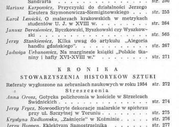 BIULETYN HISTORII SZTUKI - 1955 - NR 2 ROK XVII
