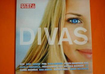 "Płyta CD ""Divas"": Dido, McLachlan, Simone, Pink, Minogue"