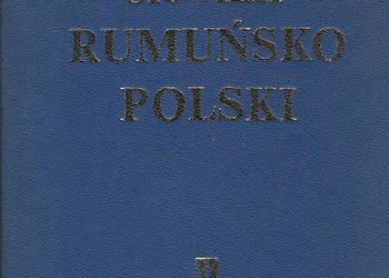 Mały słownik rumuńsko - polski.