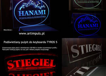 Reklama LED RGB na wymiar TANIO