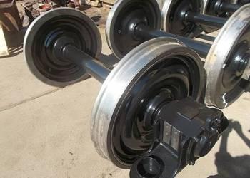 Zestawy kołowe wagonowe 25TN,1XTa, 2XT, 1XT Osie kolejowe