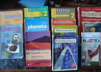 Podręczniki używane - różne