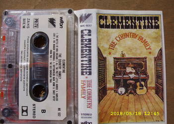 COUNTRY , kaseta ;CLEMENTINE --THE COUNTRY FAMILY .