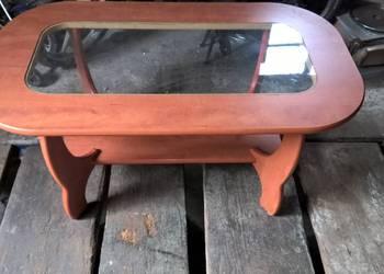 ława stół z szybą