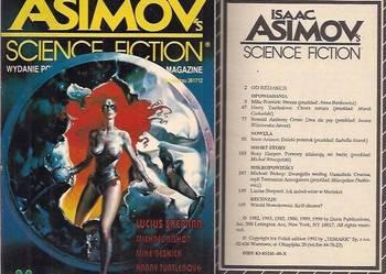 ISAAC ASIMOV'S SCIENCE FICTION MAGAZINE - CZERWIEC 1992