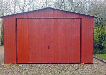 Garaż blaszany 4x6 garaże blaszane blaszak brama uchylna