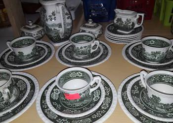 Porcelana villeroy&boch w motywie angielskim, anglik