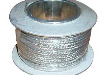 Plecionka drut miedziany cynowany 2...4mm - 25m