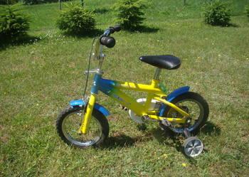 Rower dziecięcy na kołach dwunastkach