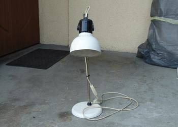 Lampa biurkowa PRL Loft Vintage oryginalna firmy Polam