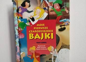 Książka, bajki dla dzieci w twardej oprawie.