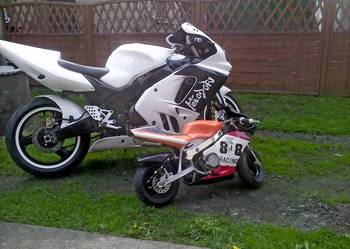 Kawasaki zx 900 Big Bor 950