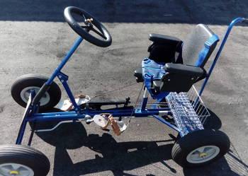 Rower rehabilitacyjny czterokołowy
