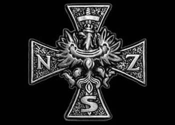 Naklejka ODBLASKOWA Narodowe Siły Zbrojne NSZ DUŻA